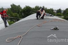 ruberoīda jumts